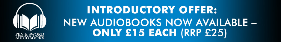 Audiobook introductory offer – new releases only £15 each
