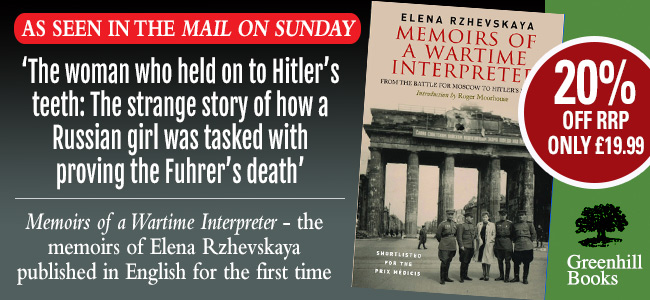 Memoirs of a Wartime Interpreter as seen in Mail on Sunday