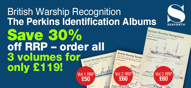 British Warship Recognition vol 1-3 bundle offer