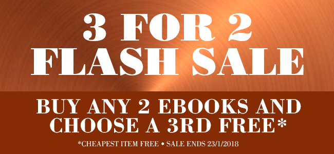 3 for 2 eBook sale