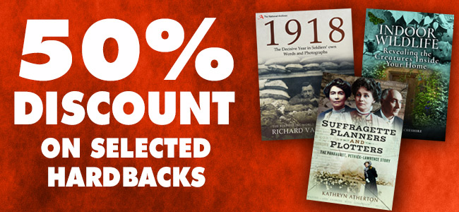 January sale: Save 50% off selected hardbacks
