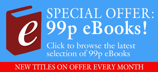 99p monthly eBook promotion