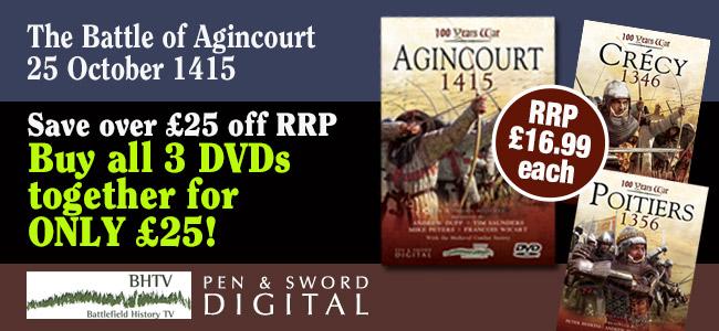 100 Years War DVD series offer