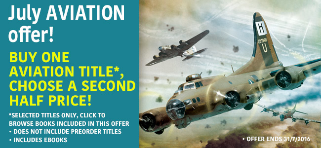 July aviation offer – buy one get one half price
