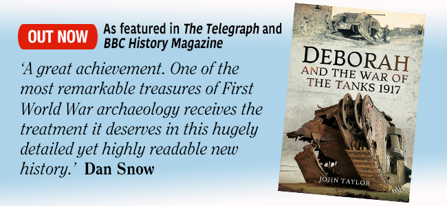 Deborah and the War of the Tanks - out now
