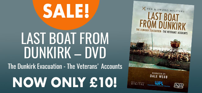 Anniversary offer – Last Boat from Dunkirk DVD