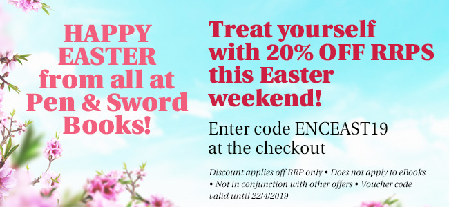 Easter weekend voucher code 20% off RRPs