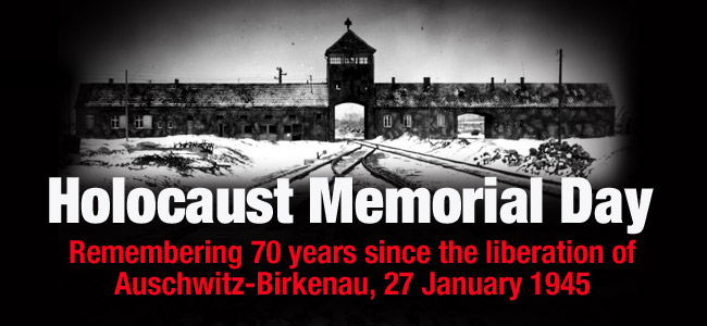 Holocaust Memorial Day 27 Jan