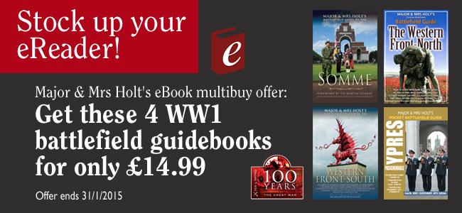 Holts eBook bundle offer - WW1