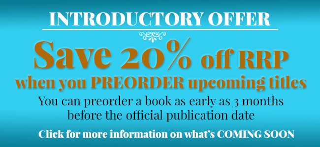 Introductory offer – save 20% off preorders