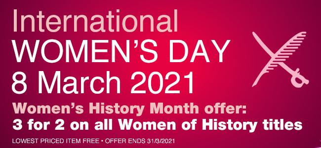 International Women's Day – 3 for 2 offer