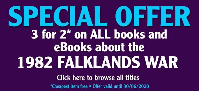 3 for 2 offer – Falklands War books and eBooks
