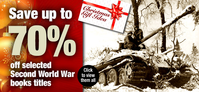 Up to 70% off WW2 books