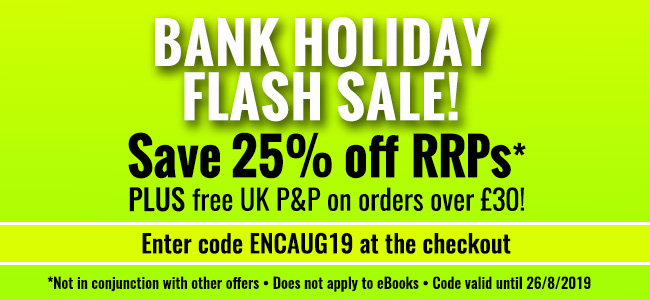 August 2019 Bank Holiday weekend offer