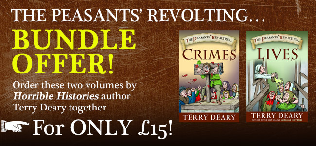 Bundle offer – Terry Deary titles