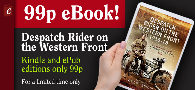 Despatch Rider on the Western Front 99p eBook