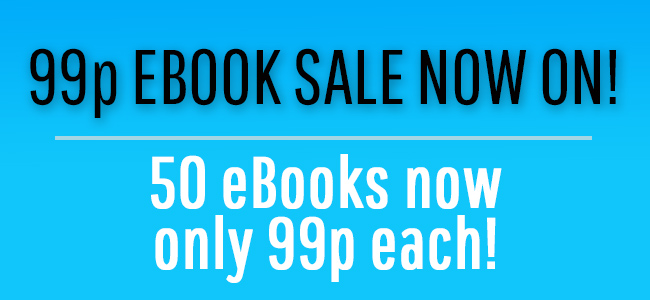 99p eBook sale – April 2021