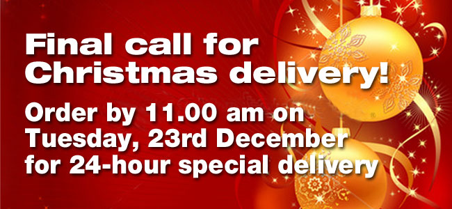 Christmas delivery final call
