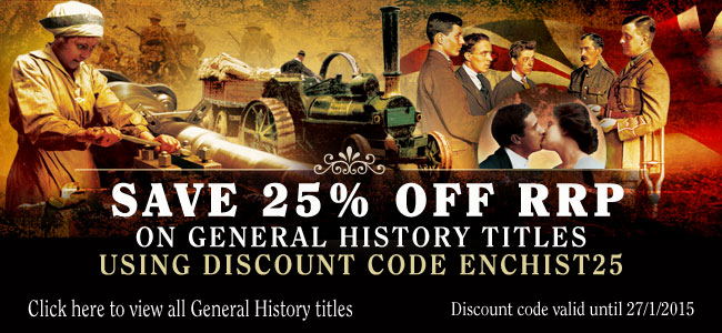 25% off General History discount code