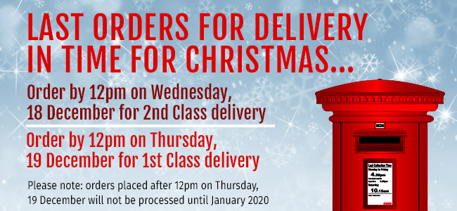 December 2019 delivery info