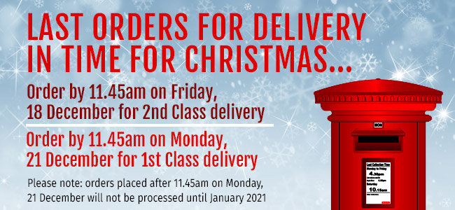 Christmas delivery postage dates