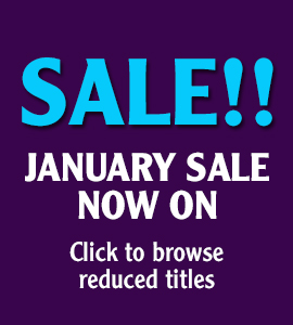 Sale!! January Sale Now On - Click to browse reduced titles