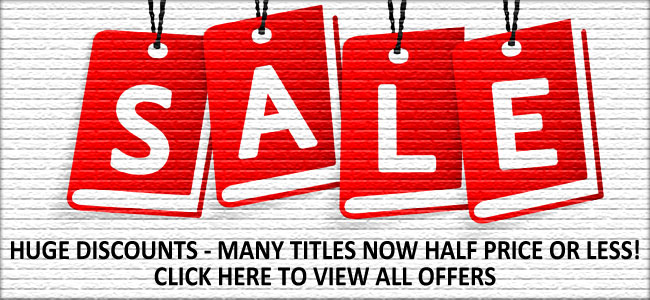 Sale - many titles half price or less
