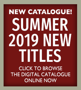 New catalogue! Summer 2019 new titles, click to browse the digital catalogue online now