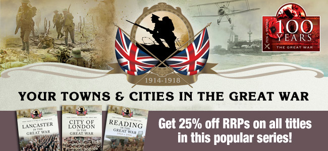 Towns and Cities series 25% off