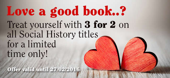 3 for 2 on social history titles