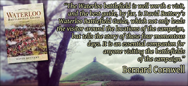 Waterloo Battlefield Guidebook quote
