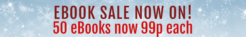 SALE 50 eBooks now only 99p each