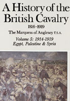 A History Of The British Cavalry 1816-1919 Volume 5: 1914-1919