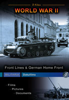 Germany At War - Front Lines & German Home Front DVD