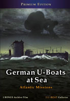 German U-Boats at Sea DVD