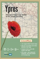 Interactive Trench Map Archive: Ypres