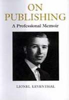 On Publishing: A Professional Memoir
