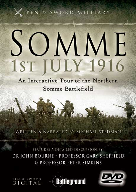 Somme, 1st July 1916 DVD (northern)