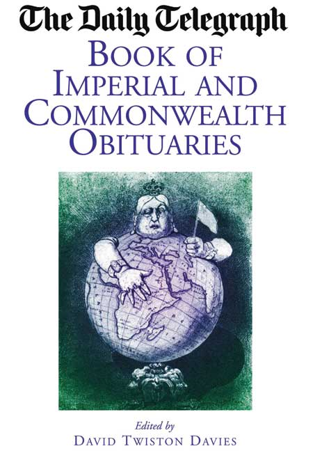 The Daily Telegraph - Book of Imperial and Commonwealth Obituaries