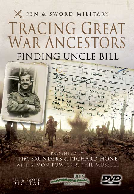 Tracing Great War Ancestors DVD