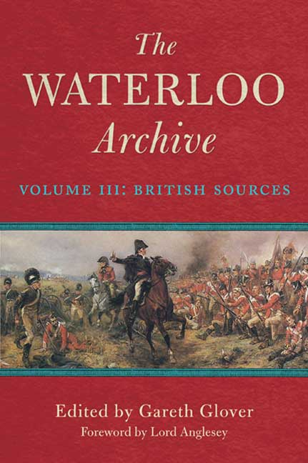 The Waterloo Archive: Volume III