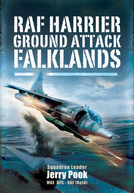RAF Harrier Ground Attack - Falklands