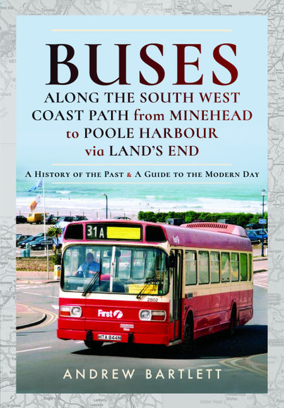 Buses Along The South West Coast Path from Minehead to Poole Harbour via Land's End