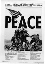 Peace, Stars and Stripes, August 15, 1945