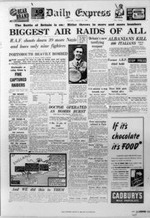 Battle of Britain, Daily Express, August 13, 1940