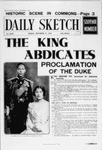 Abdication, Daily Sketch, December 11, 1936
