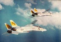 F-14A TOMCAT of VF-32, USS  John F Kennedy
