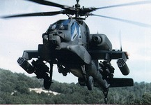 AH-64 APACHE Helicopter US 7th Heavy Cavalry