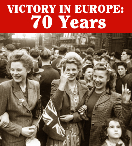 VE Day – 70 Years On