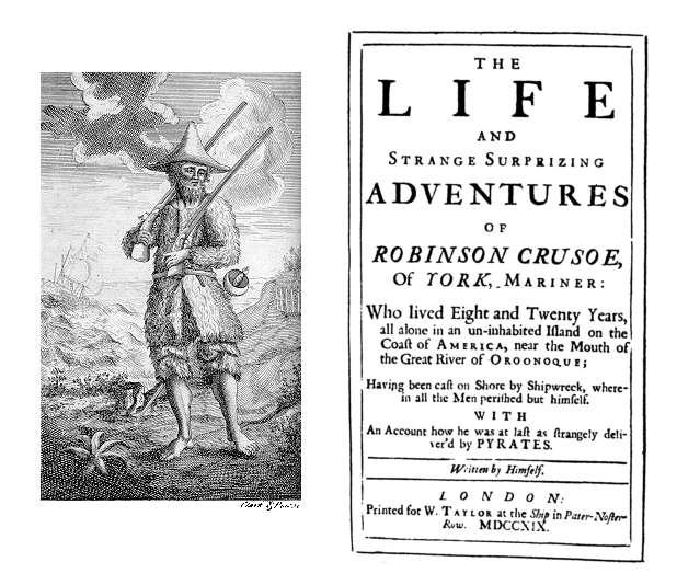 Happy Birthday 'Robinson Crusoe' – 300 years old, and still going strong!
